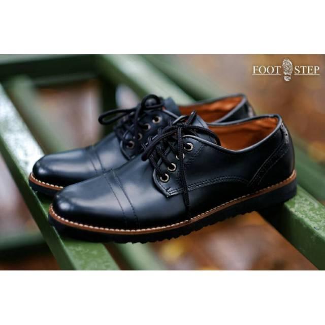 Sepatu Pria Kasual Casual Formal Low Boots Loafers Kantor Pesta Footstep Pedro Original