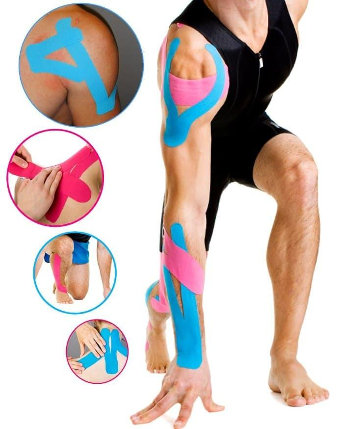 Original Kinesio Tape/kinesiology Tape For Sport & Theraphy - Merah By Sportfashion.