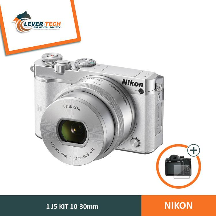 Nikon 1 J5 Kit 10-30mm White - (Free Screenguard Terpasang)