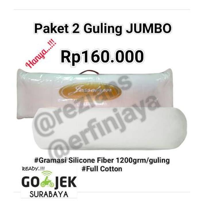 Guling Tidur Jumbo Jesselyn Gold Series ( 2Pcs