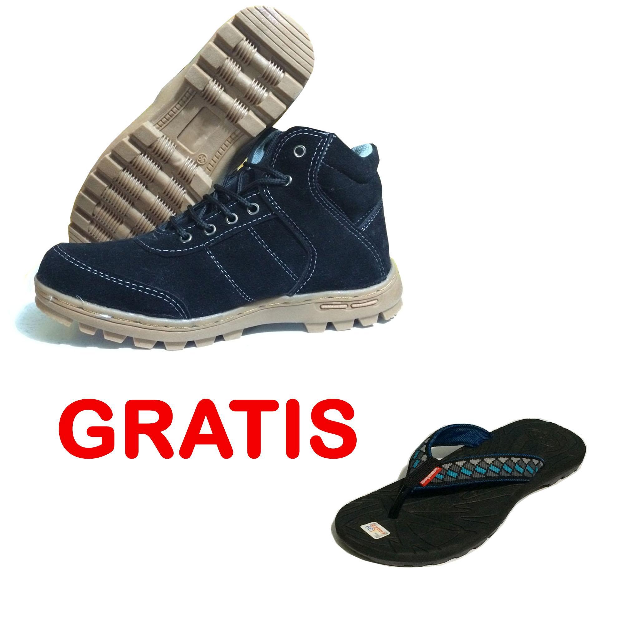 EWN Sepatu Boots Pria   Sepatu Hiking   Sepatu Touring   Sepatu Kasual Pria    Sepatu 04d360c640