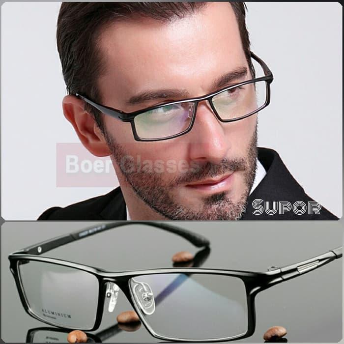 diskon 10%!! Kacamata + Lensa Leinz Sport Pria Full Frame Kaca Mata Minus Pria - ready stock