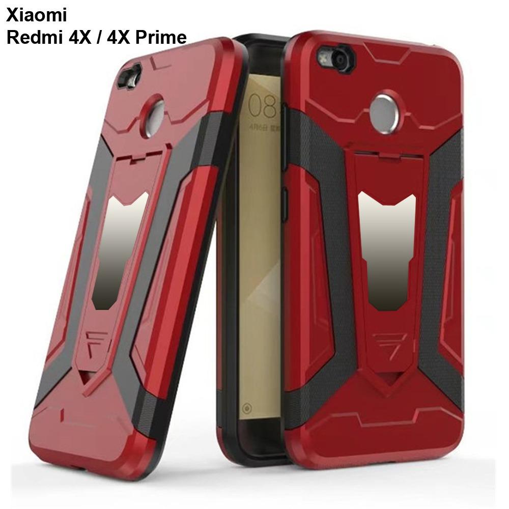 Case Iron Man for Xiaomi Redmi 4X / REDMI 4X PRIME Pro Robot Transformer Ironman Limited