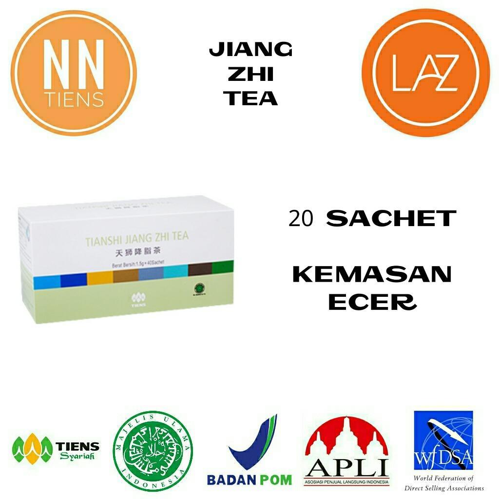 NN Tiens Jiang Zhi Tea Teh Pelangsing, Diet, Menurunkan Berat Badan, Detoksifikasi, Asam Urat, Kole