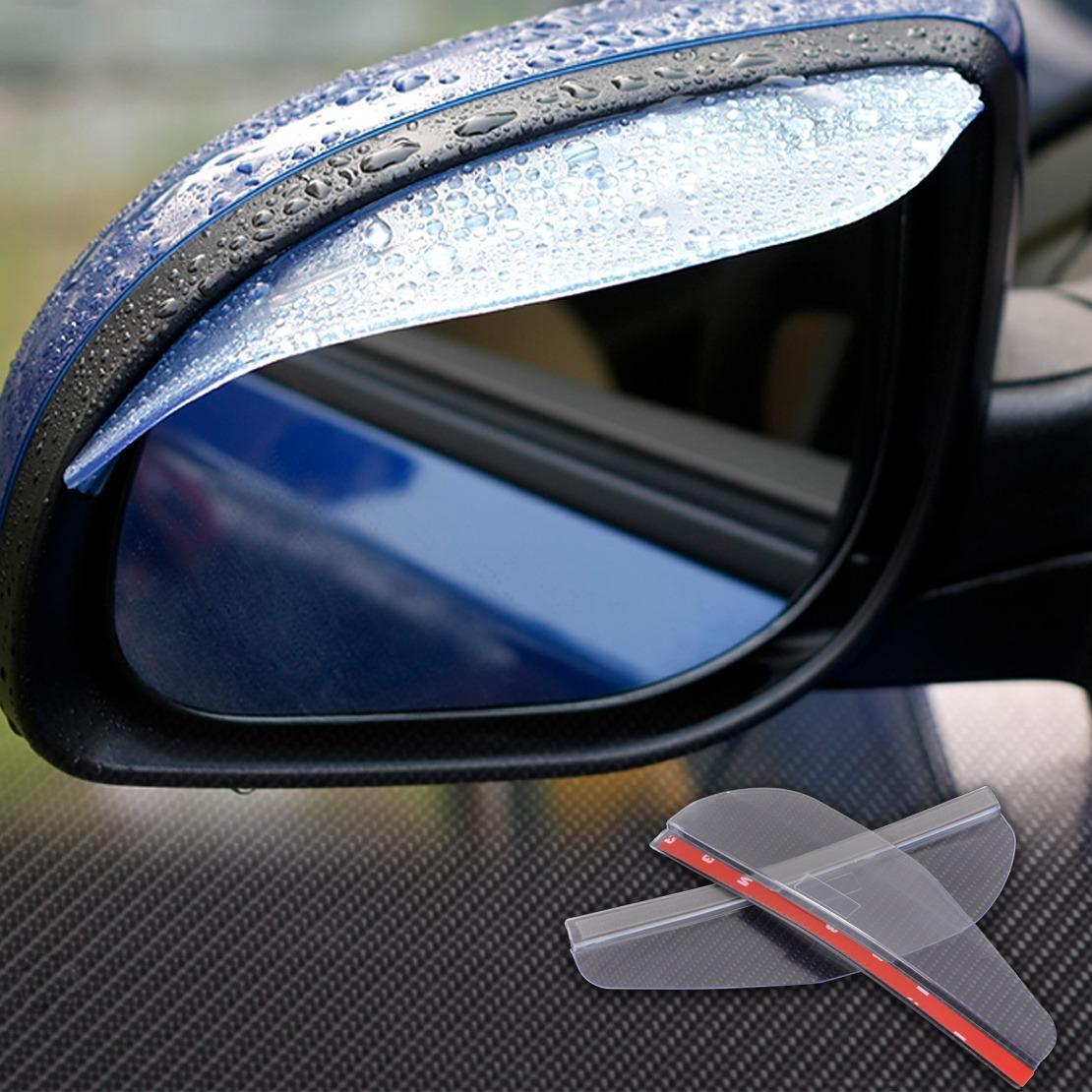 Pelindung Spion Mobil Air Hujan Kaca Mika Anti Air Kotor Cermin Car Talang Mirror Kiri Kanan
