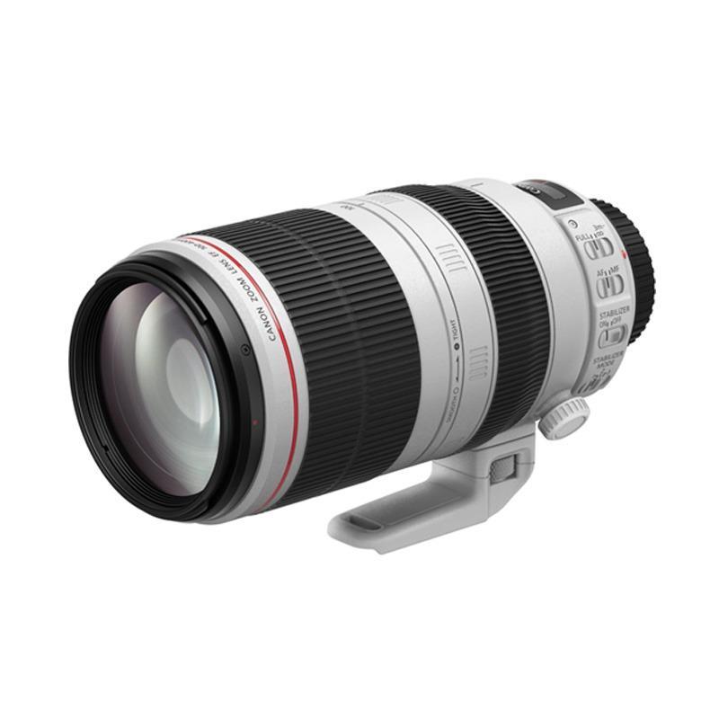 Canon EF 100-400mm F4.5-5.6L IS II USM Lensa Kamera