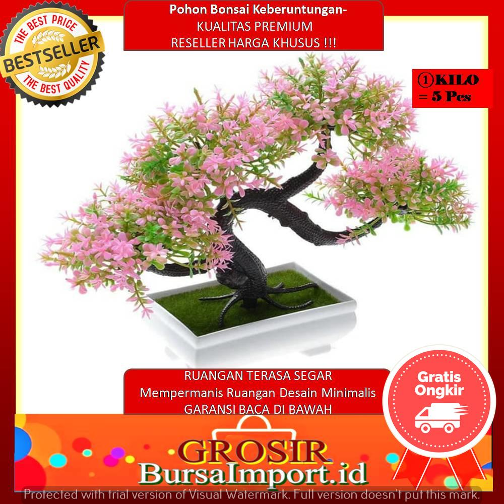 1 Kg 10Pc BONSAI Meja Bonsai Plastik Bonsai Artifisial pohon Bonsai pink 7021707aa1