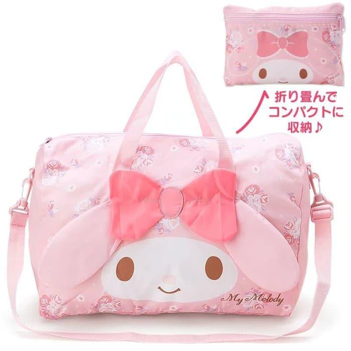 MY MELODY travel foldable bag tas lipat serbaguna travel - 0GBJLv