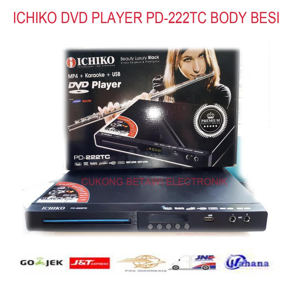 ICHIKO PD-222TC Dvd Player Body Besi-Murah