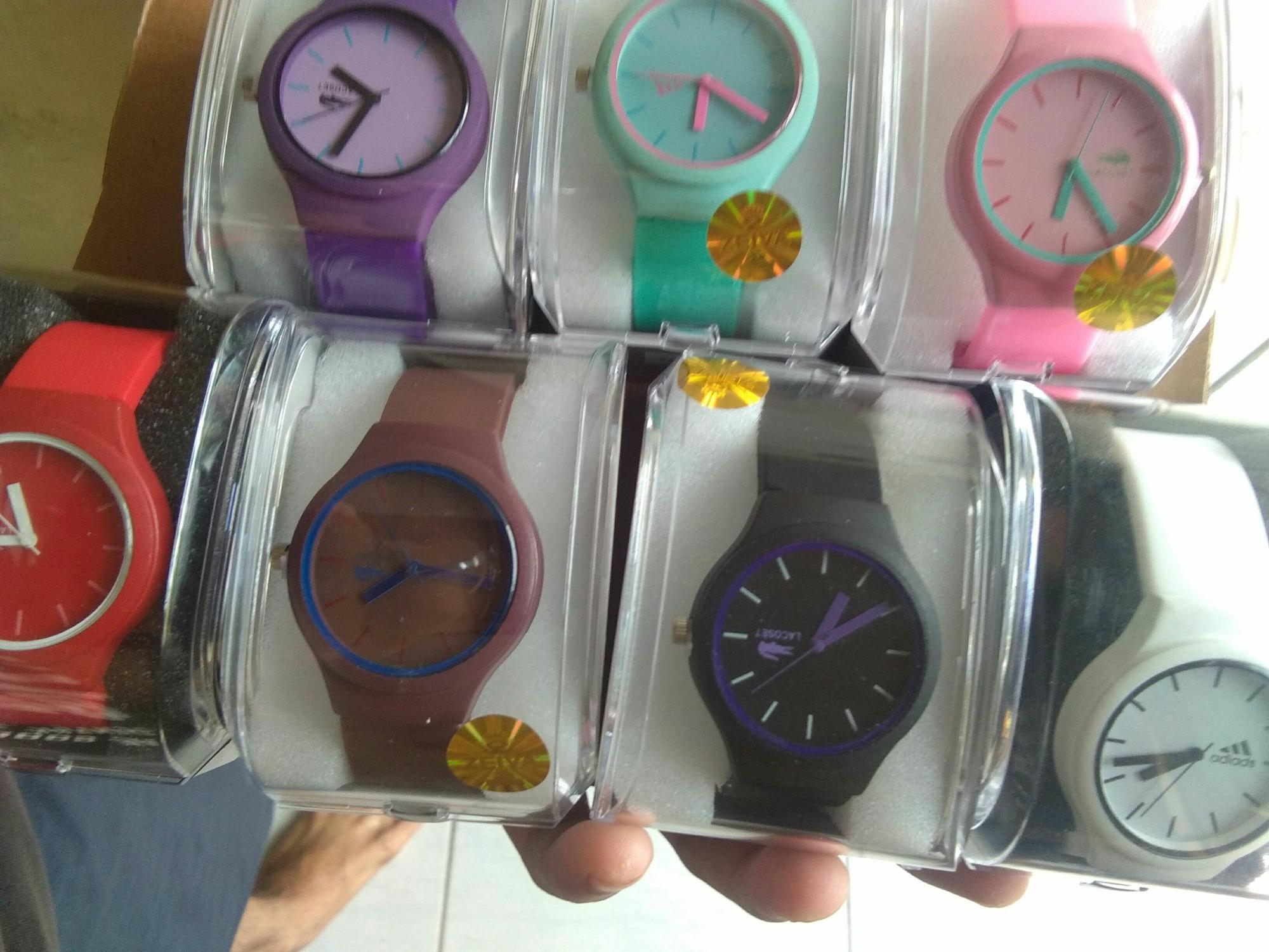 Jam tangan Gaya Unisex Jelly karet 162edc6966