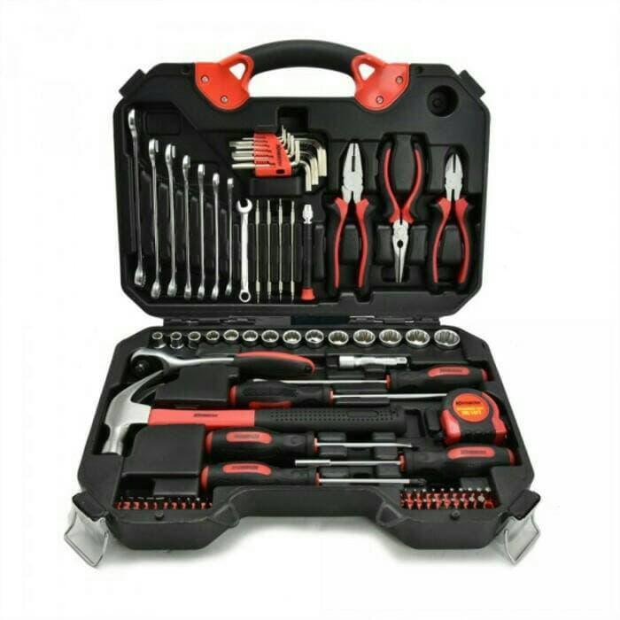 KRISBOW Mechanical Hand ToolSet 78 pcs