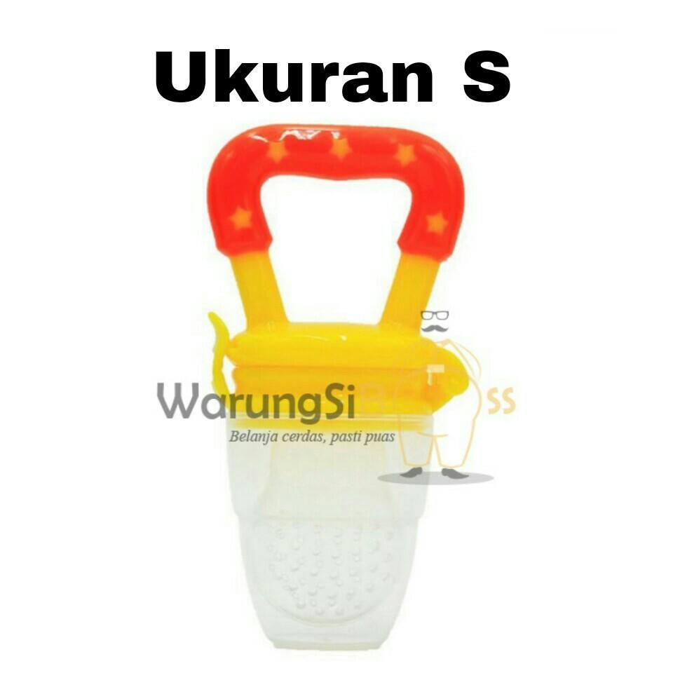 WarungSiBoss 1 Pcs Empeng Buah Bayi Ukuran S / Dot Buah Bayi / Empeng Dot Buah / Fruit Pacifier / Baby Food Feeder - Ukuran S