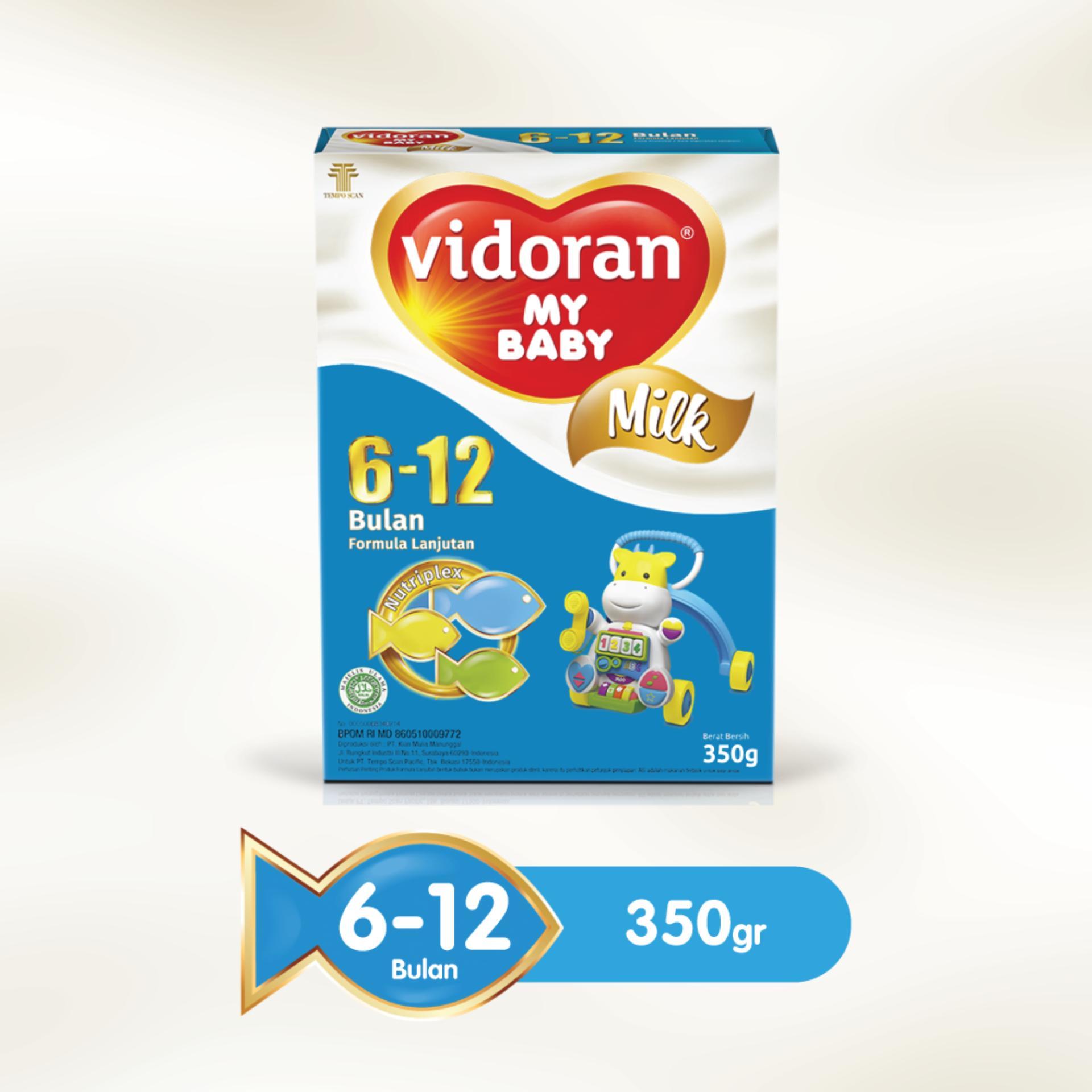 Susu Formula Bayi 6 12 Bulan Enfamil 2 A 1800gr Vidoran My Baby Nutriplex 350 G
