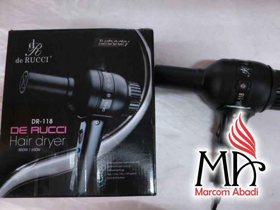 Hair Dryer De Rucci DR-118, Produk Hair Dryer High Quality