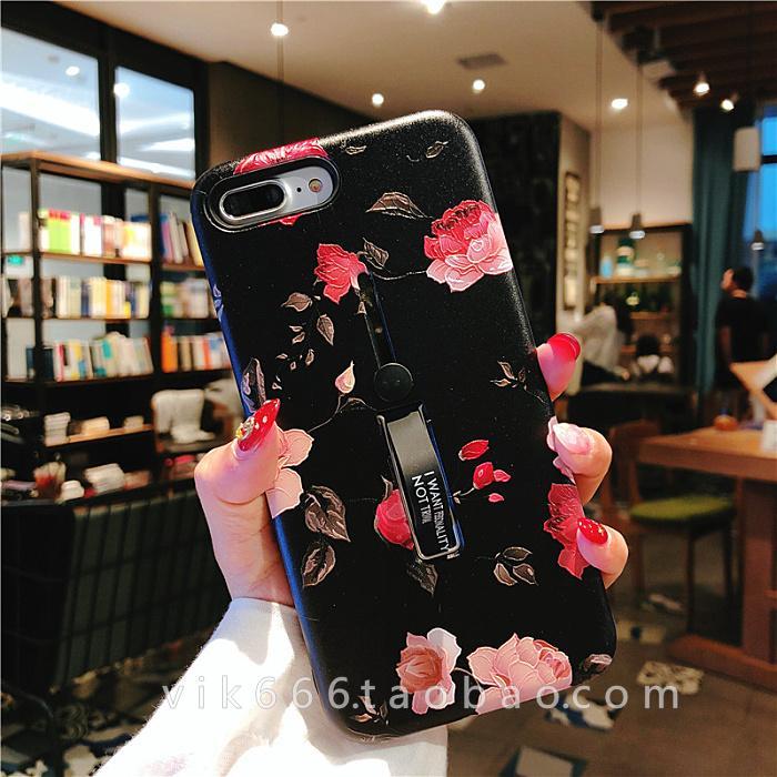 Selubung Ponsel 7 Plus/Iphone8 Jepang atau Korea Selatan Bunga Apple Identitas Cincin