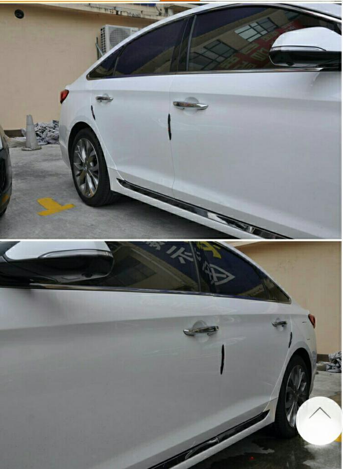 logo trd karet pelindung pintu mobil car door guard bum