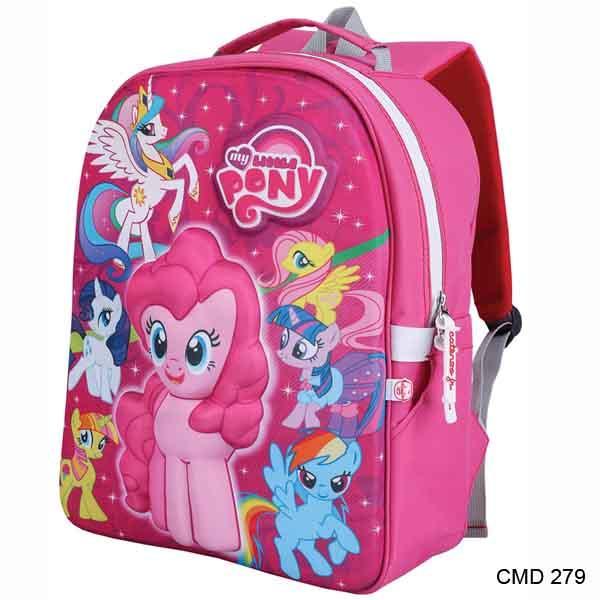 Catenzo Junior Tas Sekolah Anak Perempuan Pink - CMD 279
