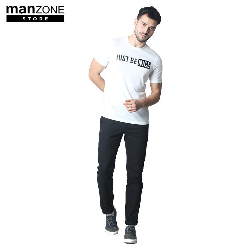 Manzone Men's Top BROONZE 1 White