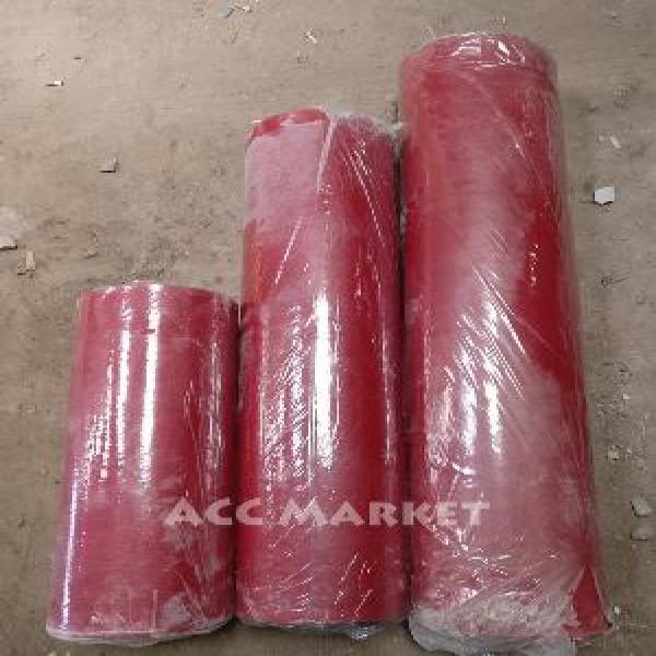 Karpet Talang Atap Air Tinggi 110 cm Merah Hitam Meteran Eceran Tebal Anti Bocor