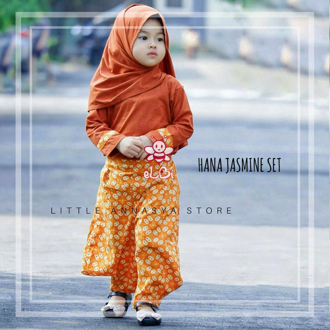 Baju Muslim Anak Perempuan / Baju Muslim Balita Perempuan / Busana Muslim Balita / Gamis Balita / B