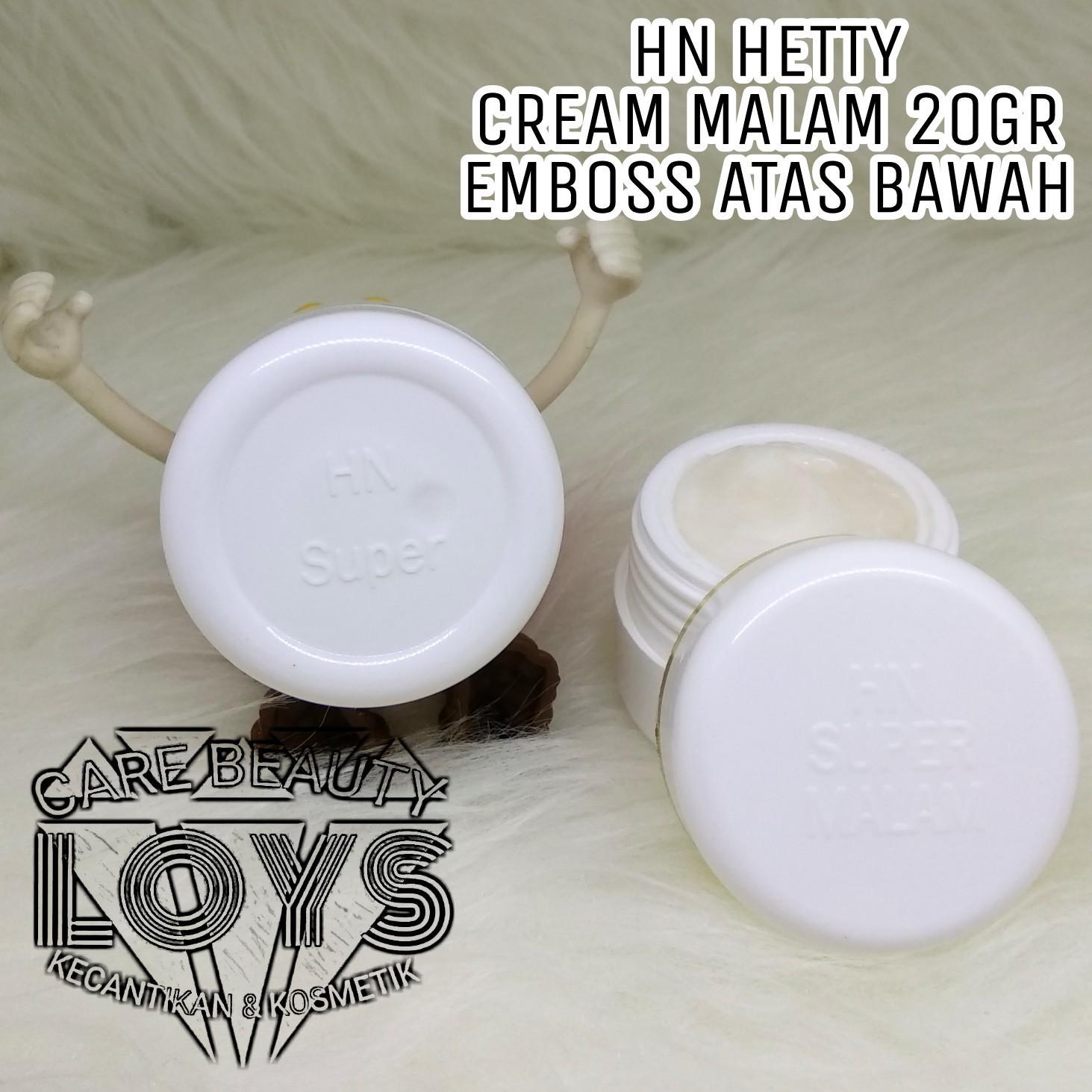 Buy Sell Cheapest Avri Cream Hn Best Quality Product Deals Sabun Kecil 60ml Hetty Nugrahati Original Asli Night 20gr Emboss Atas Bawah Malam