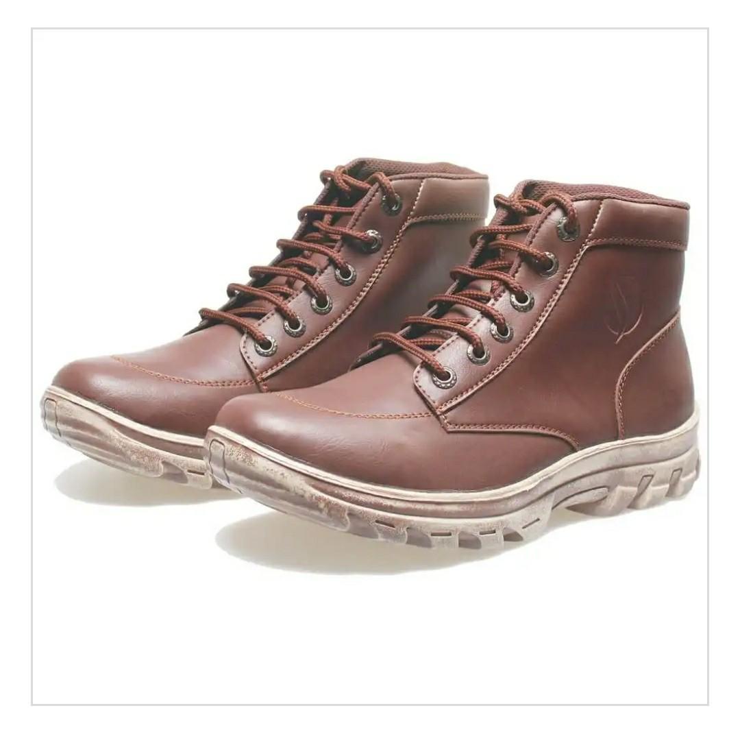 Jual Sepatu Semi Boots Pria Tracking Modis Terlaris Azcostjakualo Humm3r Balado Pantofel