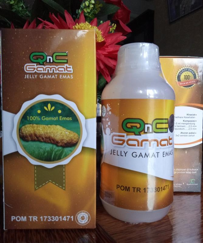 QnC Jelly Gamat Asli 100% Original Obat Herbal Multikhasiat