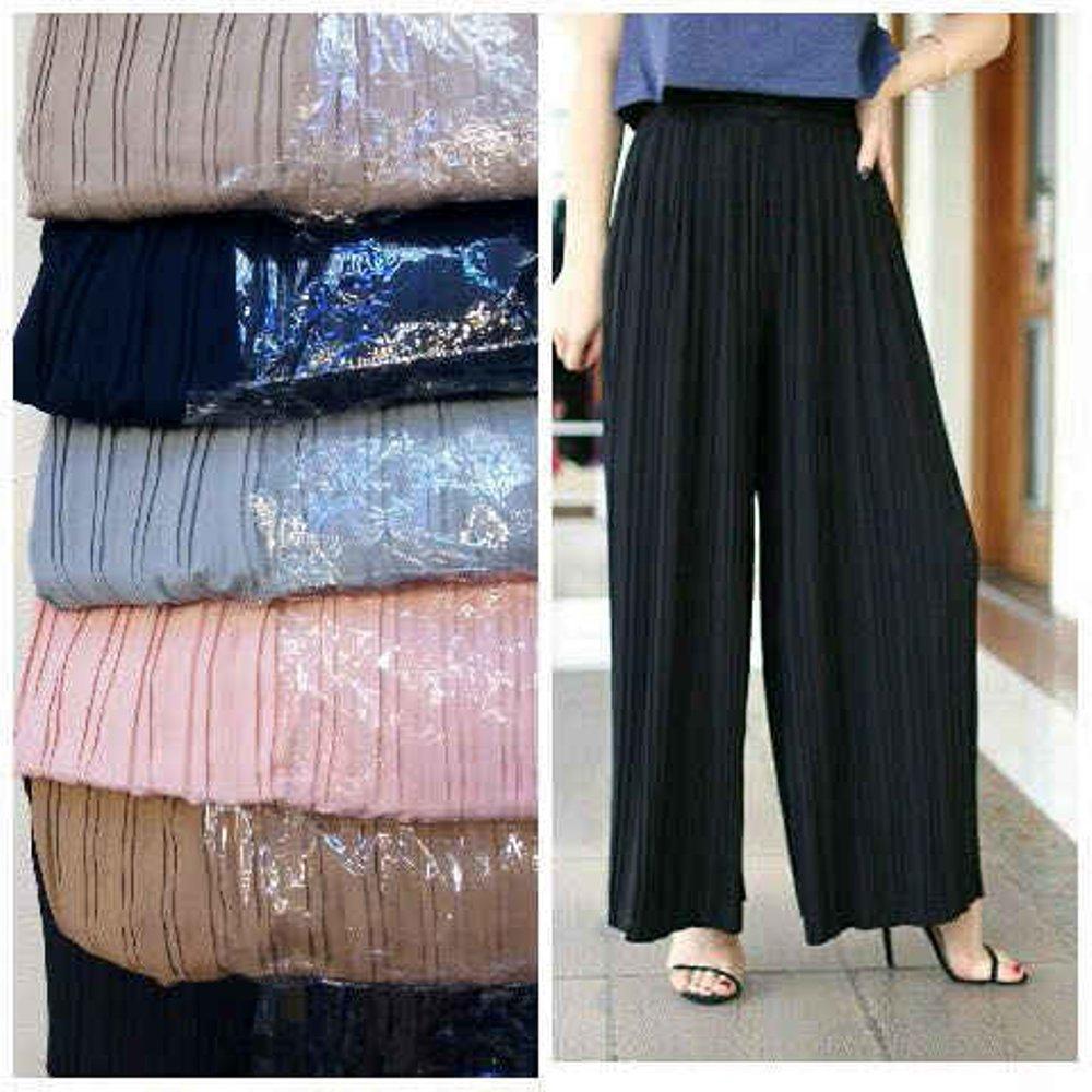 Delinks Plisket Midi Skirt Brpd18101 Brown Daftar Harga Terlengkap High Quality Clothing Long Pants Bcpj18100 Celana Panjang Wanita Kulot Kerja
