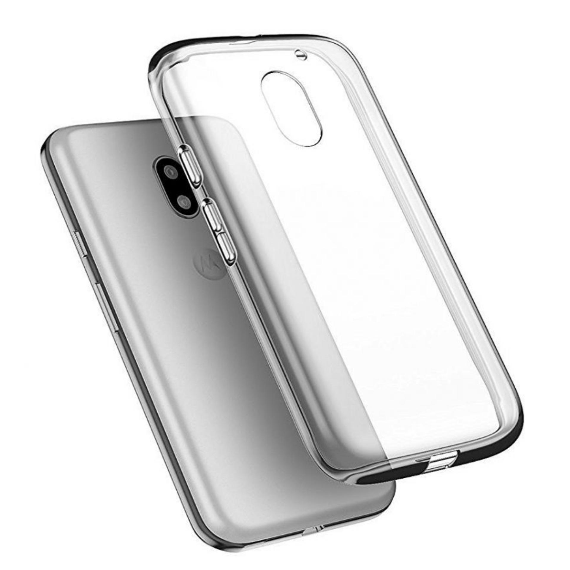 Bendoel Aircase for Motorola Moto E3 Power | Softcase Ultrathin Anti Crash - Putih Transparan