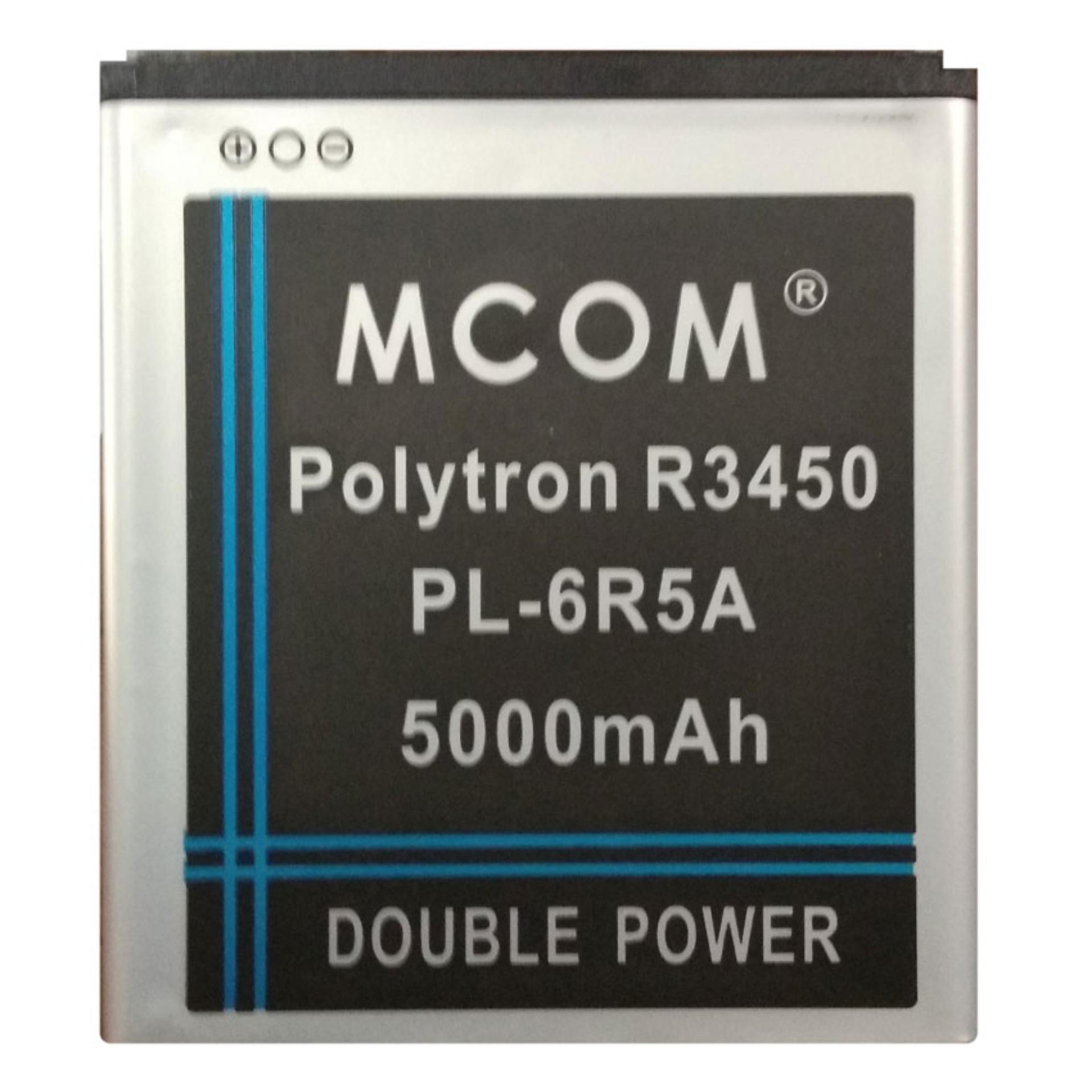 M-Com Baterai Double Power Battery for Polytron R3450 / PL-6R5A - 5000 mAh