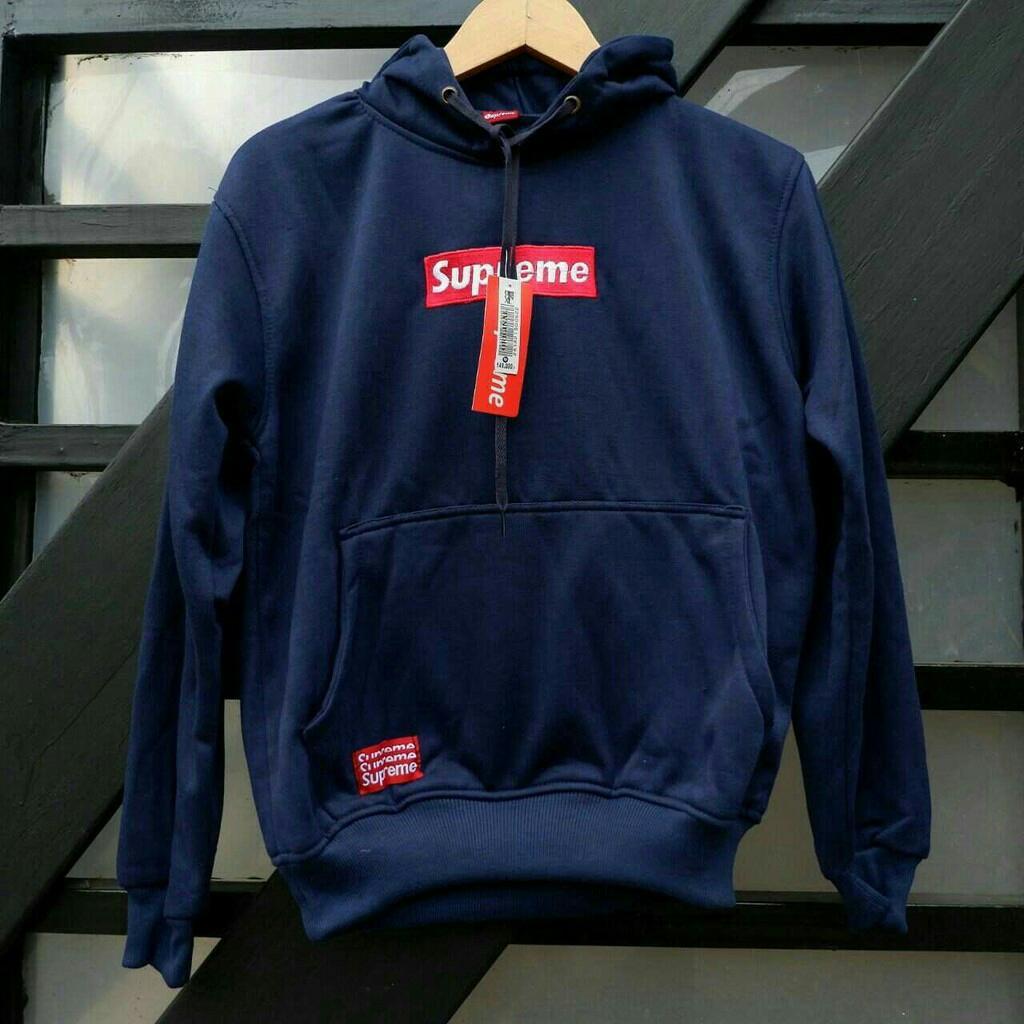 949e8f182cdd R2G Store - Jaket supreme pria wanita - navy