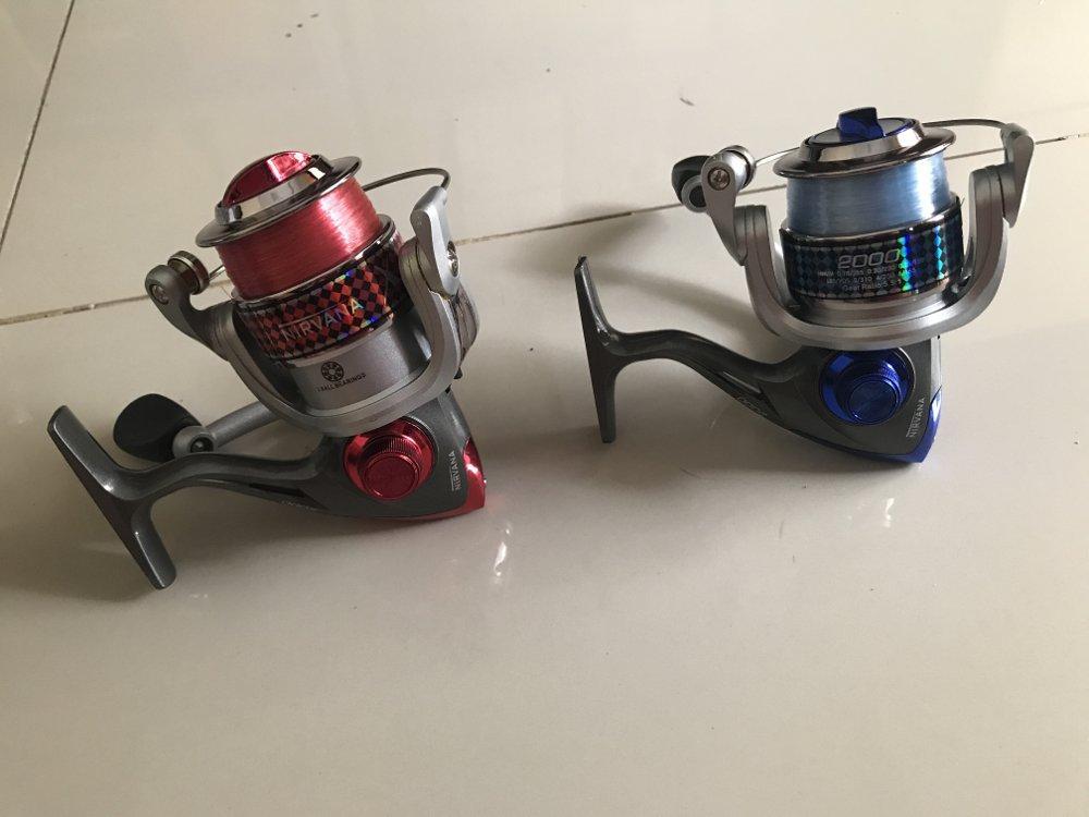 Reel size 2000 empang TERBARU BOS PANCING zerya_fishing