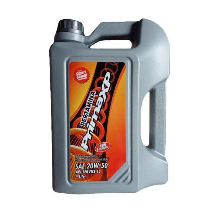 Pertamina Prima XP 20W-50 Oli Mobil Mesin Bensin 4 Liter