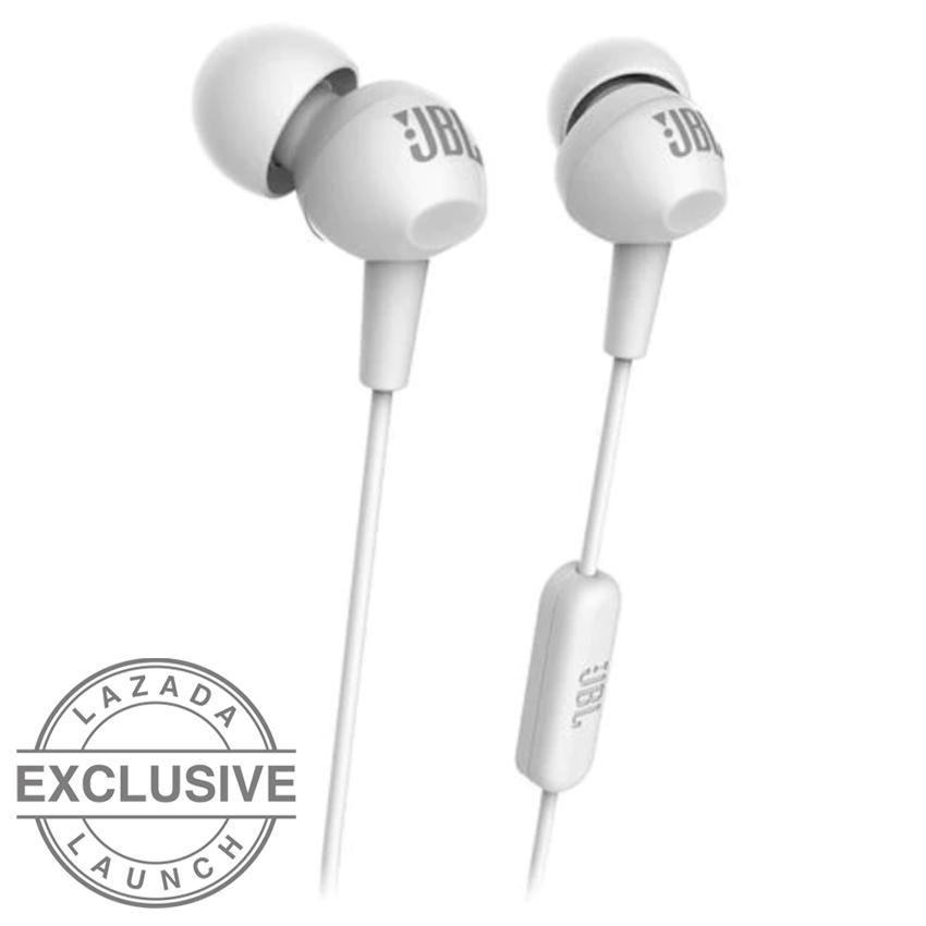 JBL C150SI In-Ear Headphone dengan Mic - Untuk Android & iOS