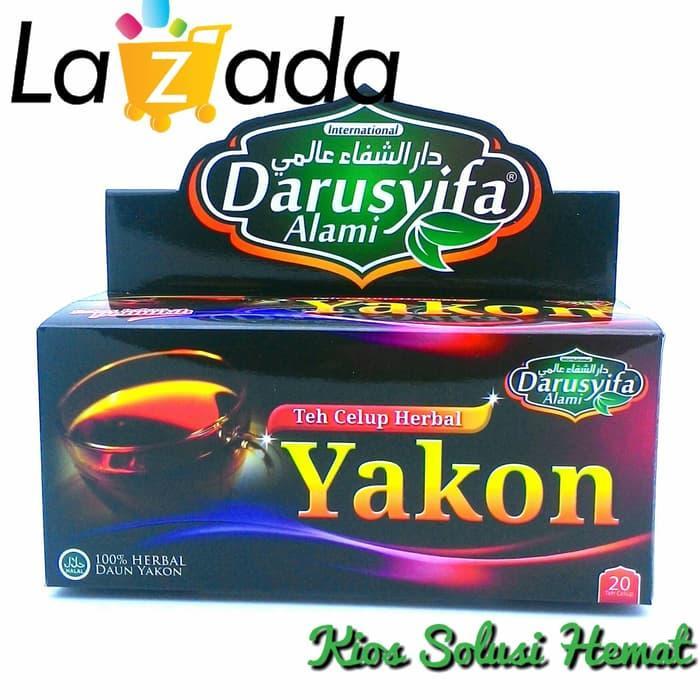 Darusyifa Teh Herbal Celup Insuline Daun Yakon Diabetes Kencing Manis - 1 box isi 20 Sachet