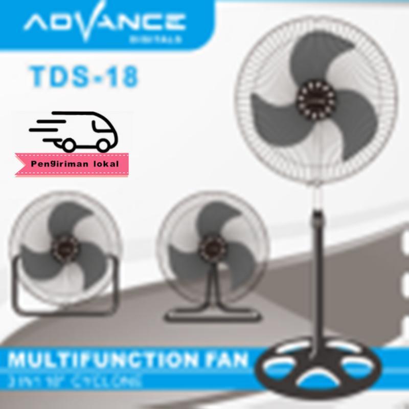 Kipas Angin Advance Digital TDS 18x Kipas Angin 3in1 Multifungsi 18