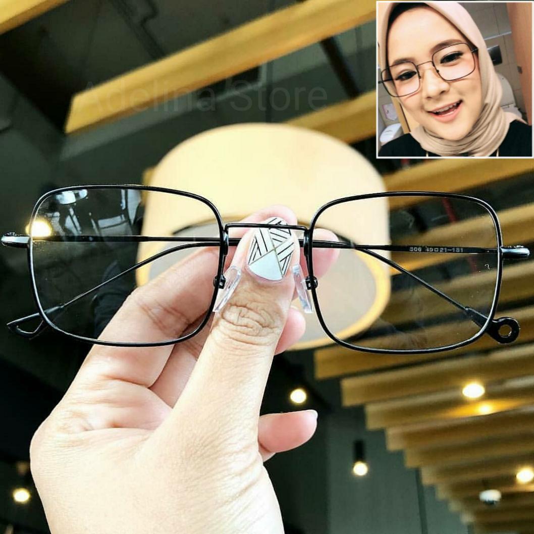 Kacamata Frame Wanita Fashion Nissa Sabyan Kacamata Masa Kini High Quality 21a88e3a1e