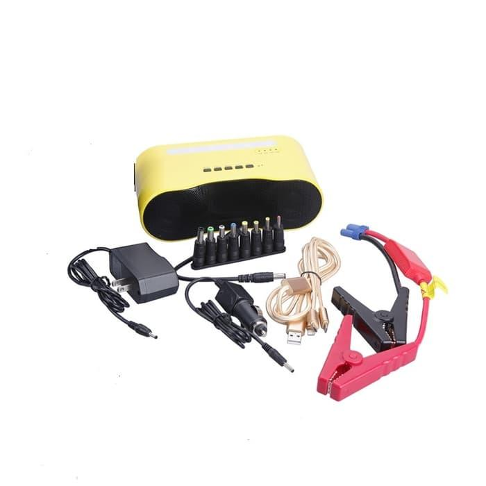 Promo   Musical Power Bank 12000 mAh - Jumper Aki Mobil dan Bluetooth Speaker   Original