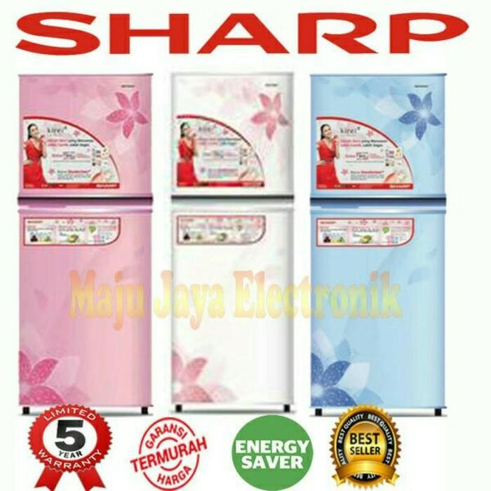 Kulkas 2 Pintu Sharp 195 Md Kirey No Frost - Mndydi