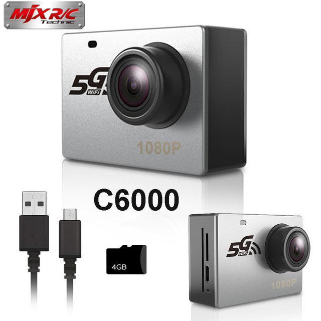 MJX C6000 5G 1080P Kamera Sport WiFi Kamera Sangat Terintegrasi untuk B3H, B3PRO, B10