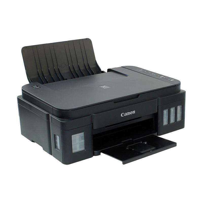 EELIC PRR-G2000 HITAM PRINTER 3 IN 1 CANON G-SERIES G2000 CANON PIXMA Ink EFFICIENT G-SERIES MULTIFUNGSI SCANNER FOTOCOPY PRINT DAN CERAK FOTO