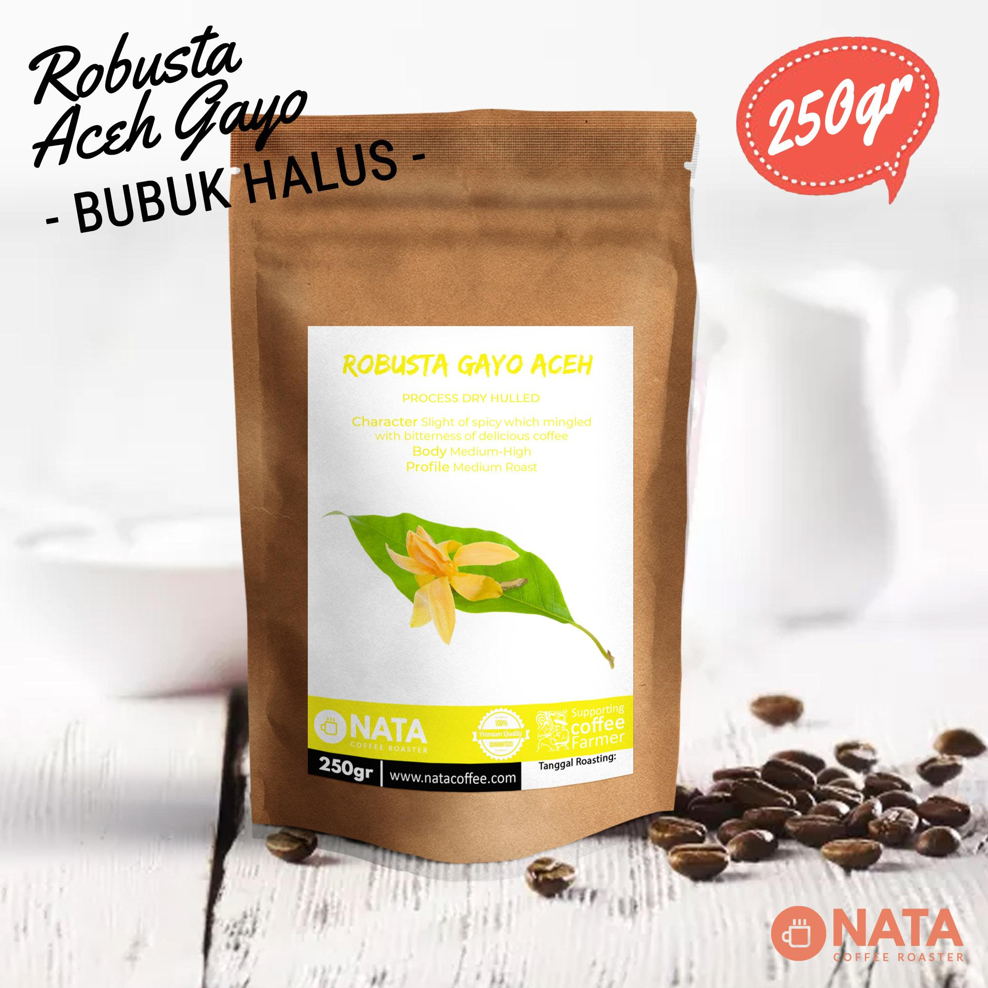 Gayo Land Coffee Kopi Robusta Super Ground 100gr Daftar Harga Premium 2pcs Idr 68000 Idr68000 View