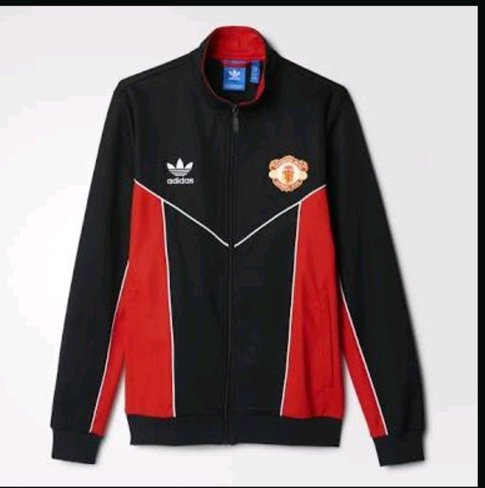 Adidas Original Manchester United Track Jacket Repro 1984 Bnwt
