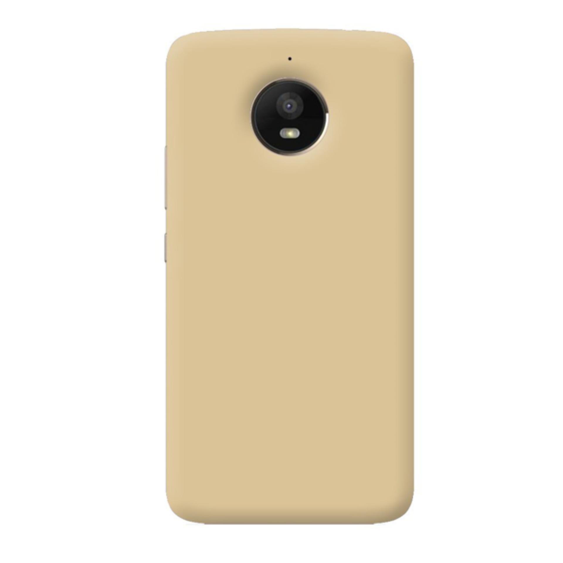 Case dyval Hardcase Motorola E4 Plus gold
