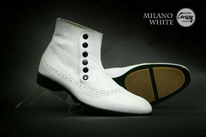 Sepatu Boots Rockers Jenggel Touring Pesta Panggung Casual Pria Warna Hitam bd9d40ca87