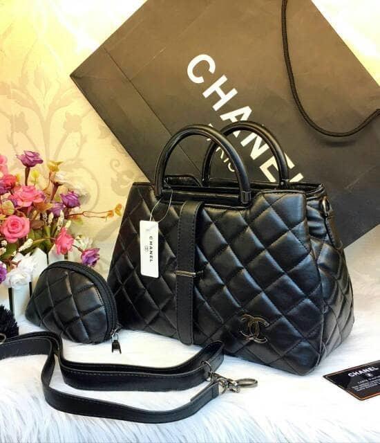 Tas Hand Bag Branded Wanita Cantik Berkelas  Tas chanel Lidah