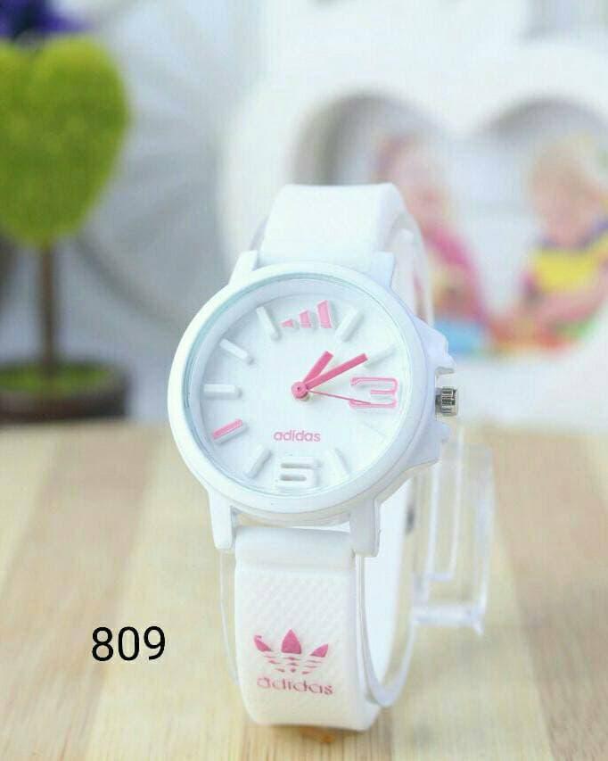 jam tangan adidas wanita / jtr 809 putih