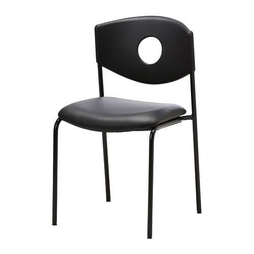 PROMO!! IKEASTOLJAN Kursi rapat, hitam MURAH /  BUBBLE 3 LAPIS / ORIGINAL / IKEA ORIGINAL