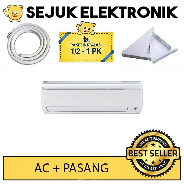 Daikin FTV20BXV14 AC Split 3/4 PK Malay Lite Putih + installasi (Free Ongkir JAKARTA)