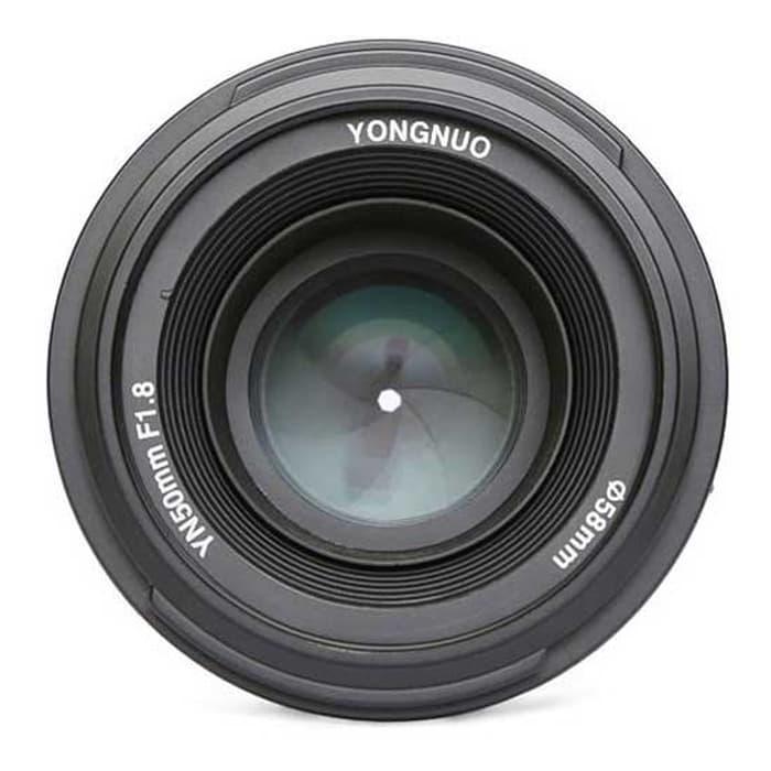 Best Buy YONGNUO LENSA NIKON 50MM F1.8